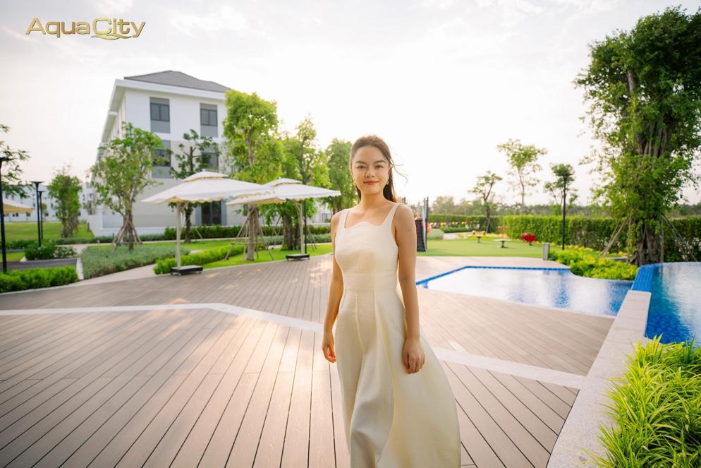 Cô cho biết đảo Phượng Hoàng là không gian sống lý tưởng của cả gia đình cô