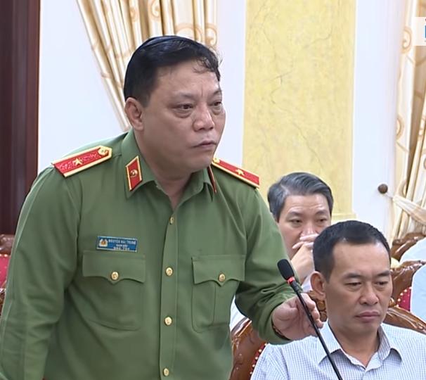 Thanh Hoa Giam đốc Cong An Thanh Hoa được điều động Về Bộ C