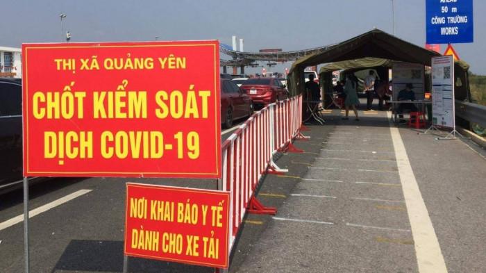 Từ ngày 22/3, Quảng Ninh tạm dừng các chốt kiểm soát Covid-19