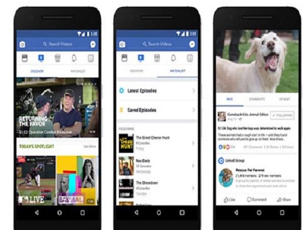 """Facebook sắp tung nền tảng video, """"tuyên chiến"""" với YouTube"""
