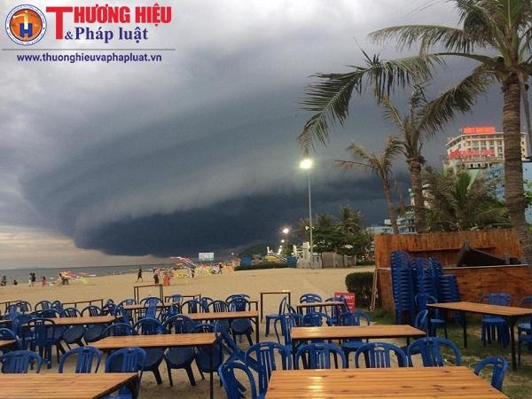 Đài khí tượng thuỷ văn Thanh Hóa thông tin về đám mây đen kỳ lạ
