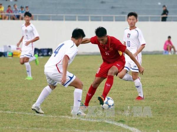 Đội tuyển U15 Việt Nam giành Huy chương Bạc tại Giải bóng đá quốc tế