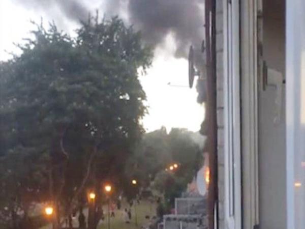 Lại xảy ra cháy chung cư ở London, vương quốc Anh