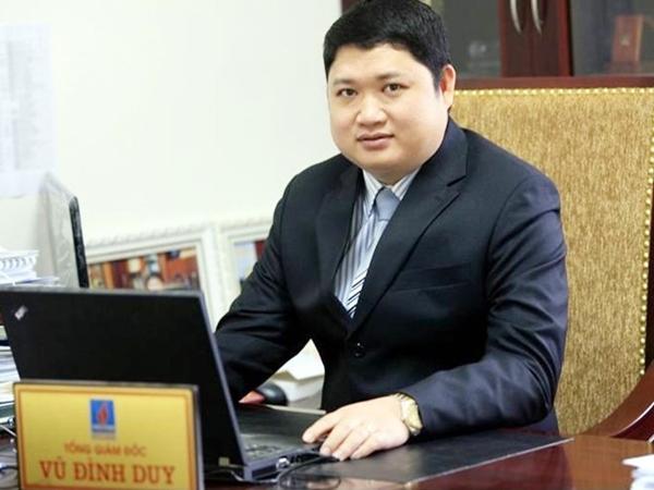 Truy nã đặc biệt bị can Vũ Đình Duy, nguyên Tổng giám đốc PVTEX