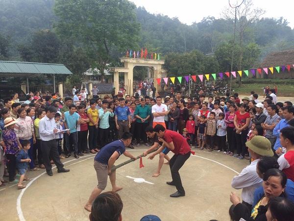 Tuyên Quang: Sôi nổi Đại hội Thể dục thể thao tại xã Lực Hành - huyện Yên Sơn