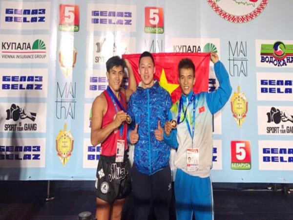 Việt Nam giành 2 ngôi vô địch tại giải Muay thế giới 2017