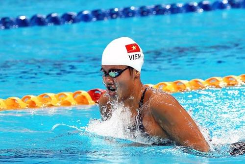 """""""Kình ngư"""" Ánh Viên giành HCV bơi châu Á, phá kỷ lục 400m hỗn hợp"""