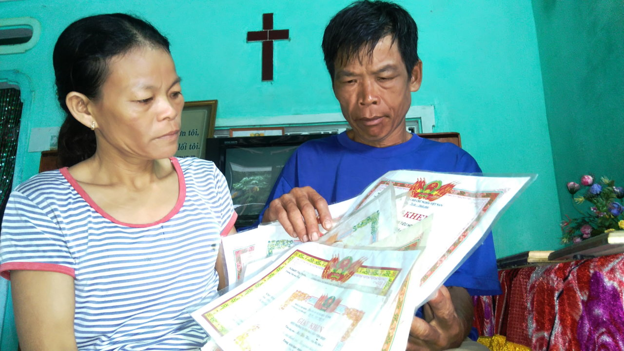 Cảnh đời bất hạnh của đôi vợ chồng nghèo dưới chân núi Dương Gần