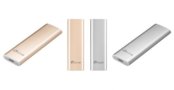 Plextor ra mắt EX1 ổ SSD gắn ngoài dùng cổng USB-C tốc độ cao