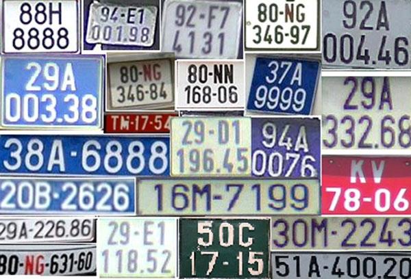Những ký hiệu đặc biệt ở biển số xe ô tô có ý nghĩa như thế nào?