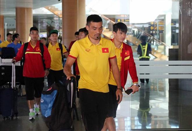 Đội tuyển Việt Nam sang Indonesia với thể lực tốt và khát khao chiến thắng