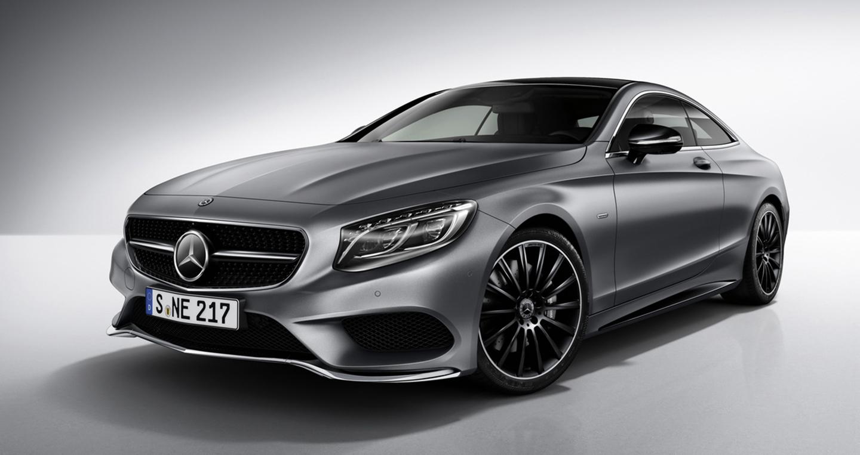 Mercedes S-Class Coupe tinh tế hơn với phiên bản Night Edition