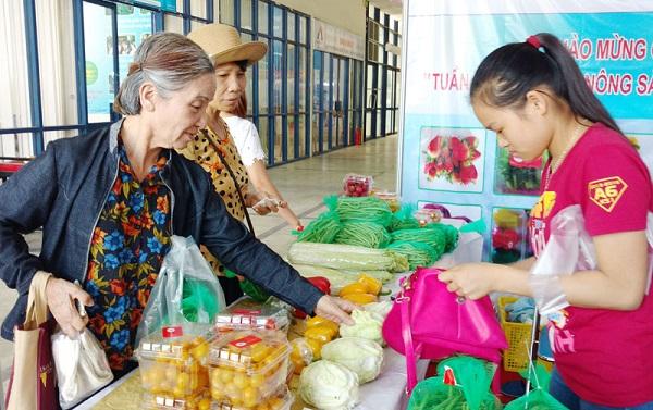 Nông sản an toàn về Hà Nội: Dòng chảy đã được khơi thông