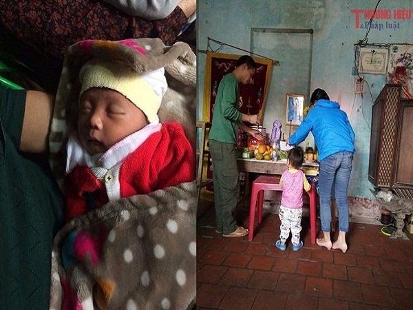 Mẹ đột ngột mất khi mới sinh 2 ngày, con thơ khóc ngặt vì khát sữa