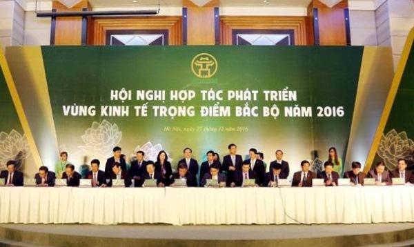Tăng cường hợp tác phát triển Vùng kinh tế trọng điểm Bắc Bộ