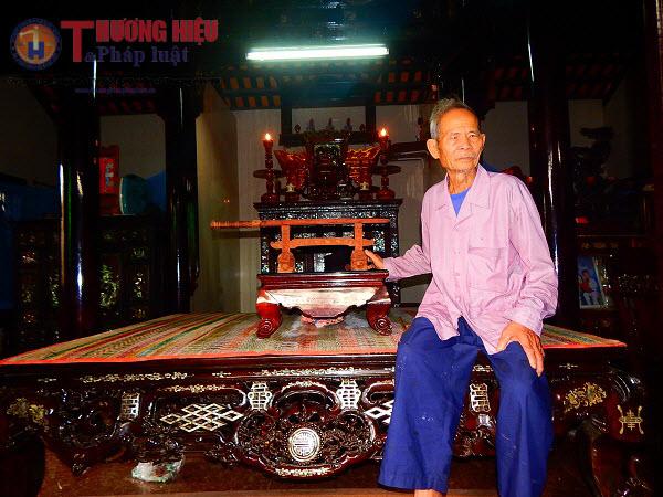 """Lão nghệ nhân giữ """"hồn"""" cho nhà rường cổ xứ Huế"""