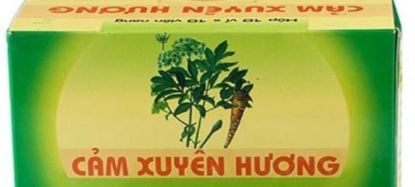 Đình chỉ lưu hành thuốc Cảm Xuyên hương của Công ty Dược phẩm Hà Thành