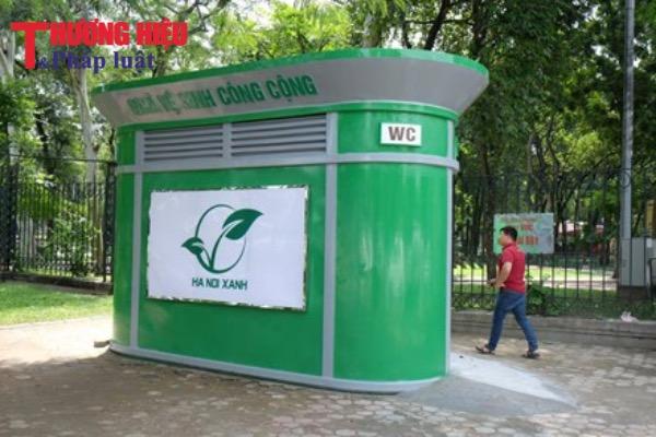 Hà Nội 'thúc' tiến độ lắp đặt 200 nhà vệ sinh công cộng kiểu mới trước Tết