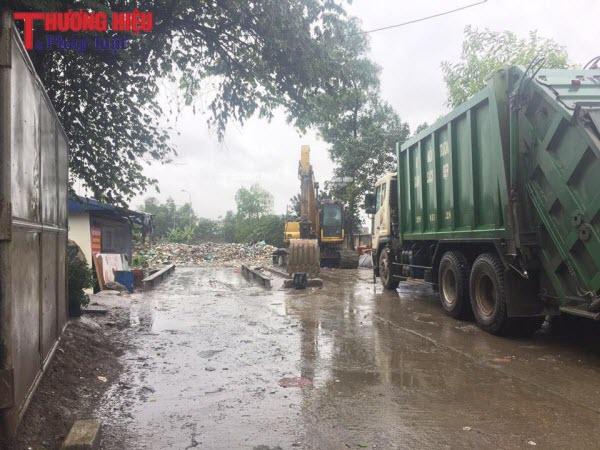 Ô nhiễm môi trường sống nghiêm trọng từ khu tập kết rác thải của Cty Urenco