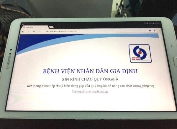 """Bệnh viện Nhân dân Gia Định, TP. HCM: Áp dụng thành công mô hình """"Khoa khám bệnh thông minh"""""""
