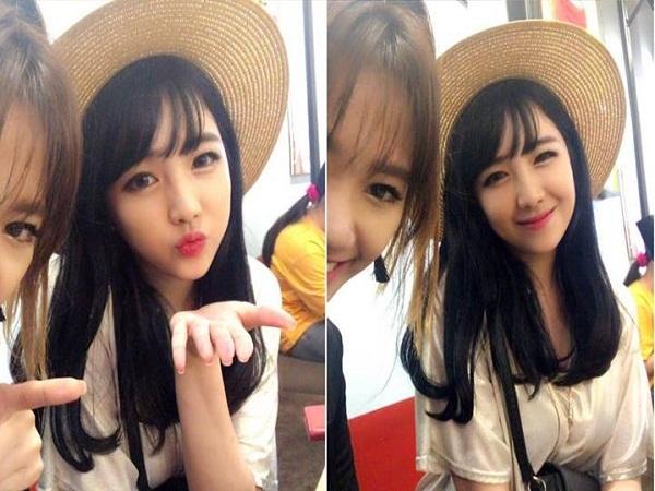Ngắm nhan sắc xinh đẹp như 'hotgirl' của em gái Hari Won