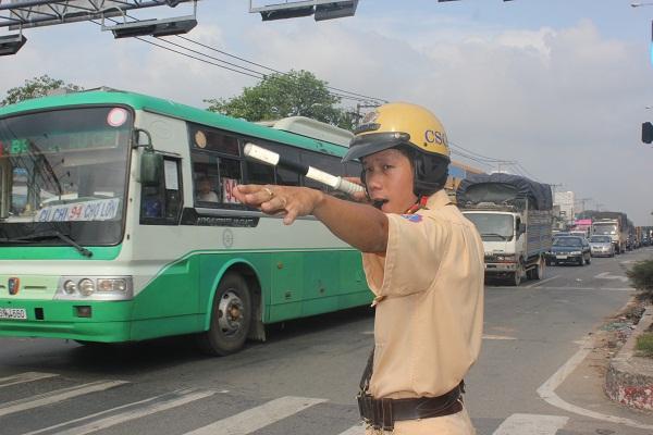 Hơn cả một chiến sĩ Cảnh sát giao thông