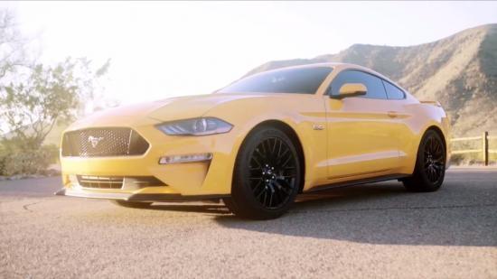 Ford Mustang 2018 lộ diện, gây nhiều tranh cãi