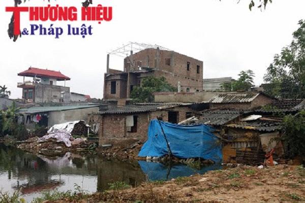 Việt Yên, Bắc Giang: UBND xã ngang nhiên hợp lý hoá để dân lấp ao xây nhà?