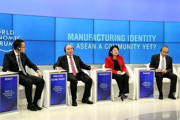 Thủ tướng kết thúc chuyến tham dự Hội nghị WEF tại Davos