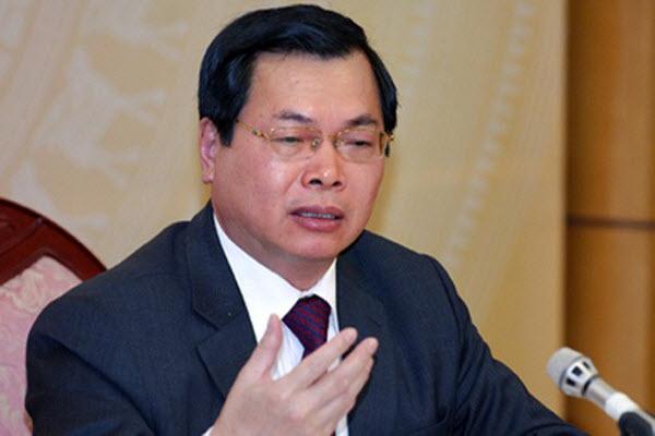 Xóa tư cách nguyên Bộ trưởng Công Thương đối với ông Vũ Huy Hoàng