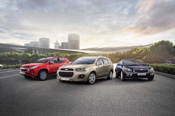 Doanh số của Chevrolet tại Việt Nam tăng trưởng ấn tượng