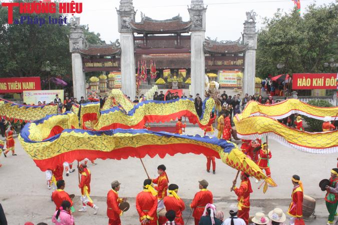 Ấn tượng, đặc sắc lễ hội đền Trần Thái Bình năm 2017