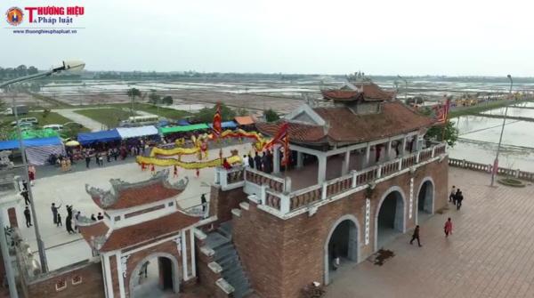 Nét đẹp truyền thống trong Lễ rước nước đền Trần - Thái Bình