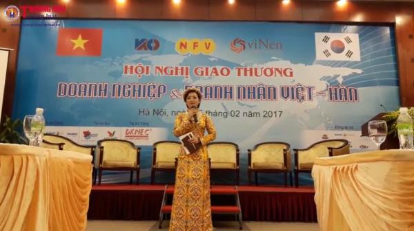 Hội nghị giao thương doanh nghiệp và doanh nhân Việt Hàn lần thứ I