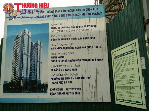 Dự án Mỹ Đình Plaza 2: Người dân đã an tâm hơn về cẩu tháp xây dựng
