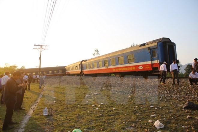 Công điện về khắc phục hậu quả tai nạn đường sắt ở Thừa Thiên-Huế