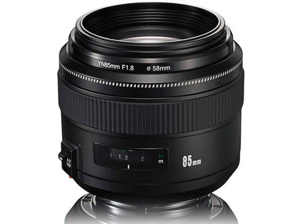 Yongnuo ra mắt ống kính YN85mm F1.8 cho Canon EF