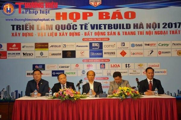 Hơn 1.700 gian hàng tham gia Triển lãm Quốc tế Vietbuild Hà Nội 2017