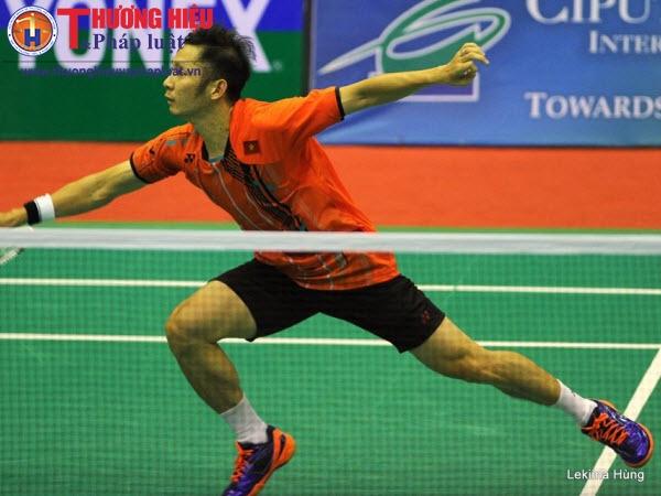 Nguyễn Tiến Minh bảo vệ thành công ngôi vô địch giải cầu lông Ciputra Hà Nội 2017
