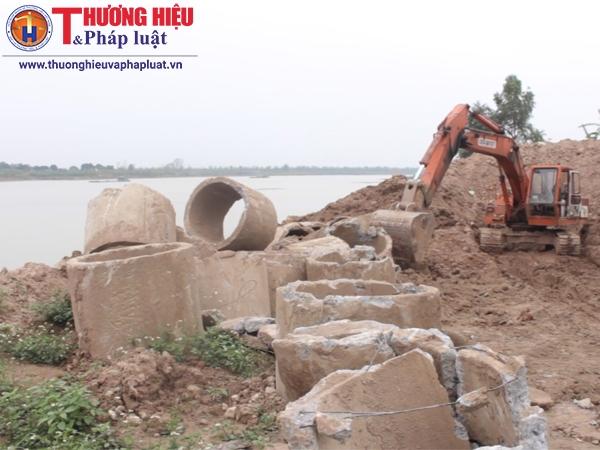 Xã Trung Mầu - Hà Nội: Ai hưởng lợi từ việc khai thác và bán cát không phép?