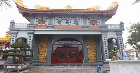 Ngôi chùa 'khủng' và xây nhanh hiếm thấy tại Quỳnh Phụ - Thái Bình
