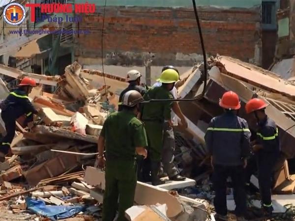 Bình Định: Sập nhà khiến 1 người chết, nhiều người bị thương