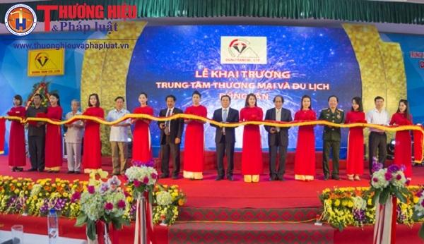 Khai trương trung tâm Thương mại & Du lịch Dũng Tân