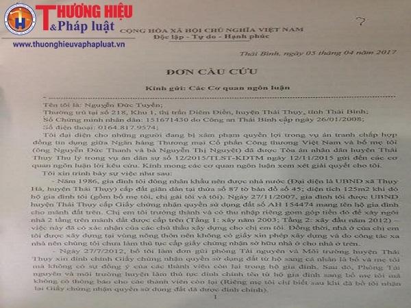 Thái Bình: Khuất tất phía sau giấy chứng nhận quyền sử dụng đất