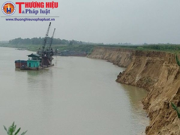 Phú Thọ: Đất nông nghiệp bị mất dần do nạn khai thác cát của Công ty Thái Sơn
