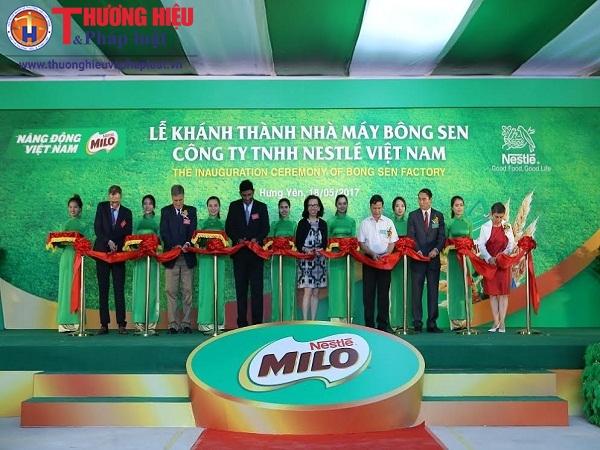 Nestlé khánh thành nhà máy mới mang tên Bông Sen tại Hưng Yên
