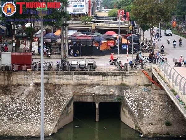 Hà Nội: Q.Cầu Giấy có xử lý dứt điểm vi phạm ở dự án cống hóa mương Nghĩa Đô trước ngày 15/6/2017?