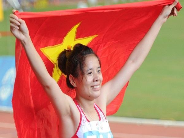 VĐV Nguyễn Thị Huyền xuất sắc giành HCV 400m vượt rào vô địch châu Á