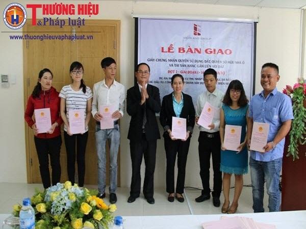 Vicoland Đà Nẵng bàn giao sổ hồng cho cư dân