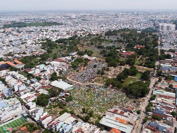 Nghĩa trang lớn nhất TP. HCM sẽ trở thành khu đô thị